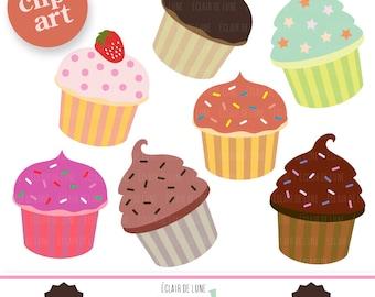 Cupcake Clip Art Food Clipart Cup Cake