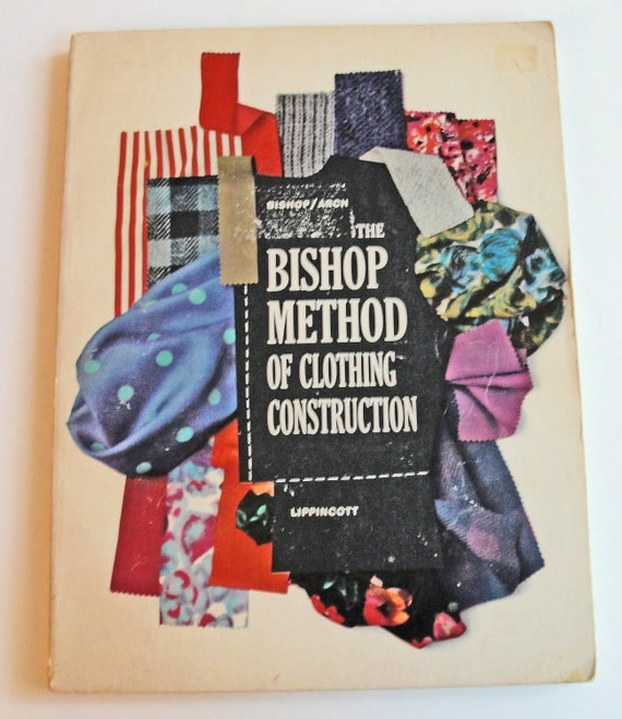 Sewing Book Bishop Method of Clothing Construction Vintage 1950's How To Sew Training Manual