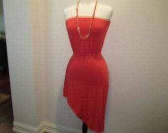 Tangerine Tube Dress