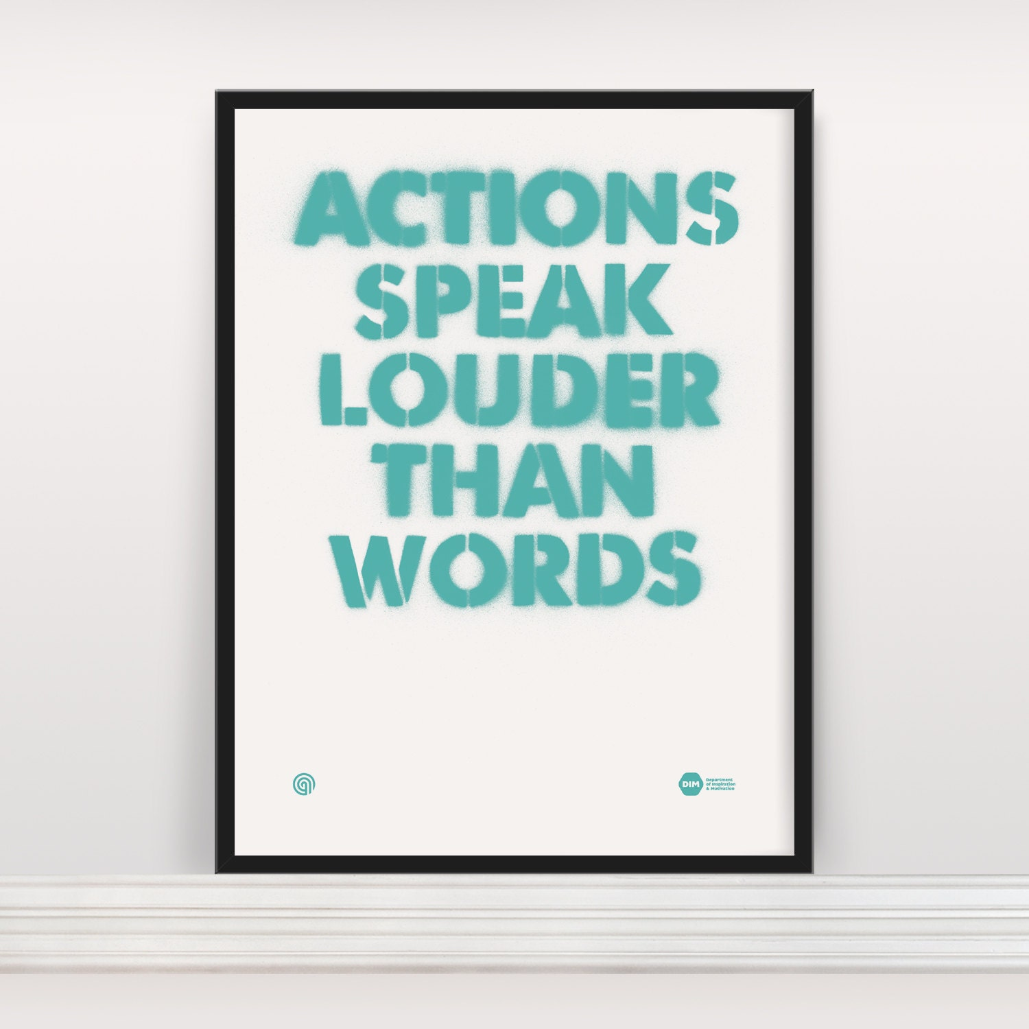 the saying actions speak louder than words through various literary pieces Another way to explain the above expression would be through another well known saying: actions speak louder than words both statements are complementary to each other and they mean the same thing.