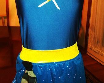Scottish girl Running Costume