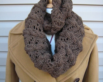 Love me, Love me not---super sized cowl knitting pattern