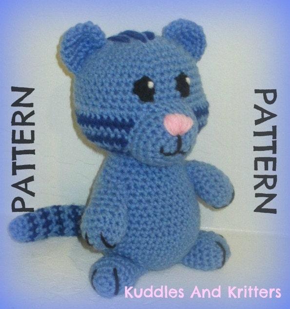 PATTERN ONLY Crochet Tigey