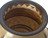 Blonde Chai A: Segmented Wood Bowl FB6106