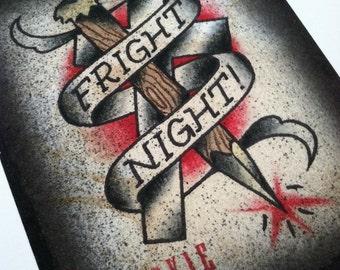 Fright Night Giclee Print