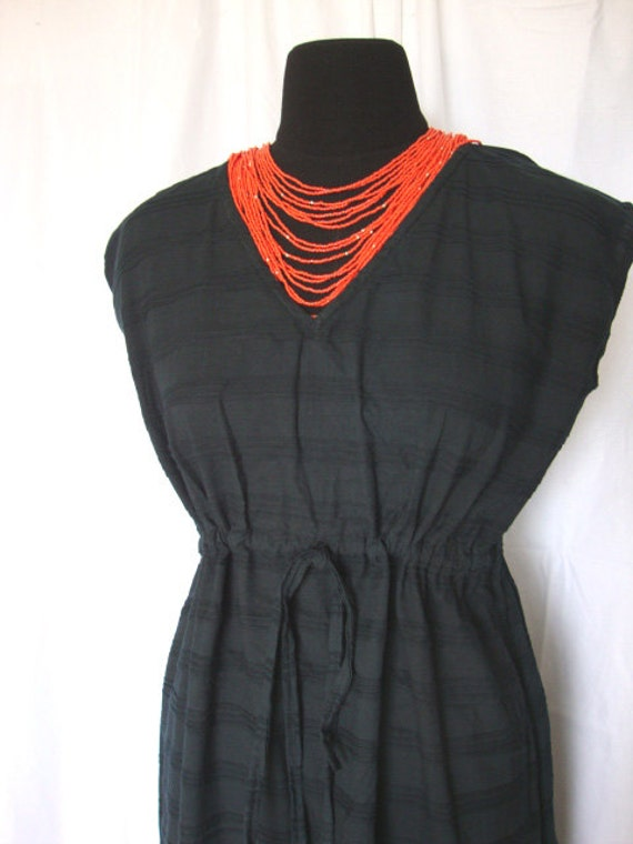long black maxi dress lounge wear party dress empire waist gown