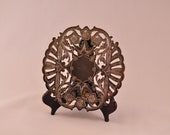 SALE! Wallace Silverplate Trivet with Feet