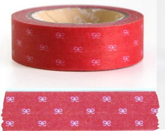 Japanese Washi Tape Roll- Ribbons