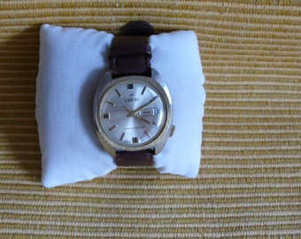 "Swiss ULTRA rare ""ORION""  wrist watch   1940-1960  Flat VERY very good condition"