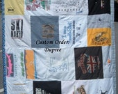 Custom Tshirt Quilt - FOR DUPREE ONLY