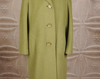 Vintage Blin et Blin Coat in Green