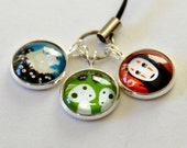 Totoro & Studio Ghibli Characters - Keychains / Cellphone Charm