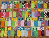 Owl Cell Phone or iPod Case, Made of Eco Friendly Felt