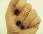 Coiled Ring - Knuckle Ring, Adjustable