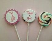 Ballerina Lollipops