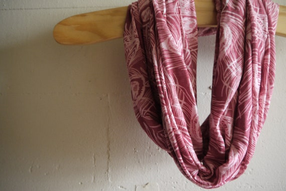 Infinity Scarf Circle Scarf - Ruffle My Feathers