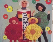 McCall's 9560 UNCUT Pattern for Children's Life Savers Candy Costume in Kids Size 2 thru 8