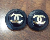 SOLD - vintage Chanel clip-on earrings