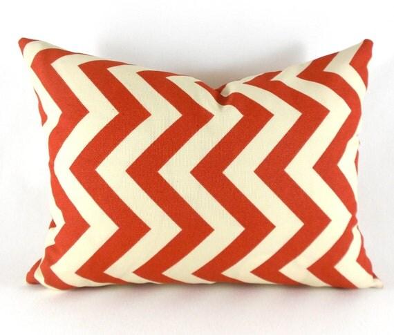 SALE Lumbar Pillow Decorative Pillow Cover Pillows Rust Pillows Burnt Orange Pillows