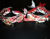 2 Custom Bracelets with 4 Images Each