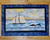 Come Sail Away  - Applique - Art Quilt PDF E-Pattern