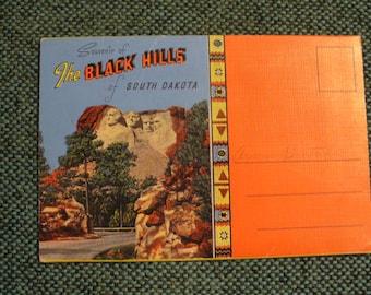 Black Hills Postcard Folder