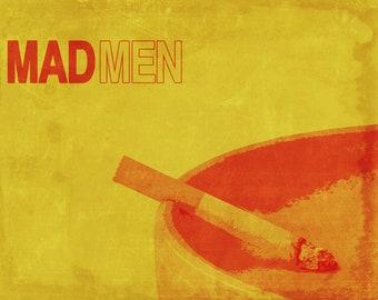"""Mad Men Vintage Style Cigarette 11"""" x 14"""" Print"""