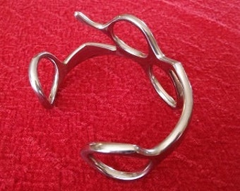Scissor Bracelet-the original,hand-forged stainless steel,shear bracelet