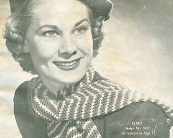 PDF Vintage Ladies Knitting Pattern Book - Elegant Styles from the 1950's (332)