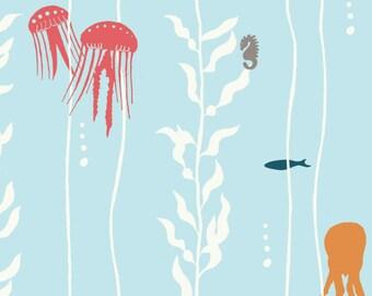 Birch Organic Fabrics Storyboek Two Collection One Yard in Kelp Play
