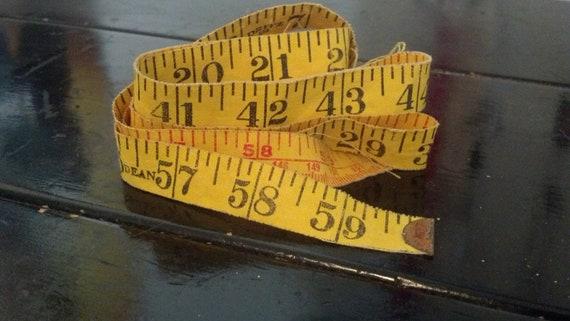 Vintage Cloth Tape Measure