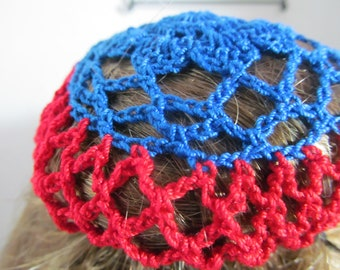 Crochet Chignon Cover
