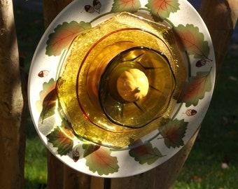 Glass Garden Flower- Go Nature-Golden Acorn