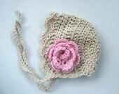 Vintage Line bonnet- PATTERN