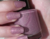 Lynx Lilac - custom blended nail polish