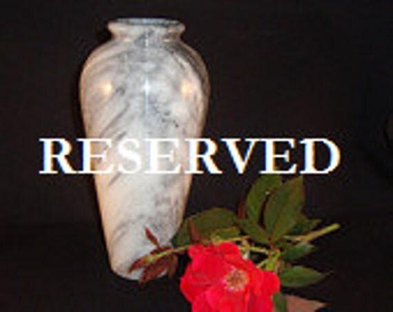 Vintage Alabaster Vase