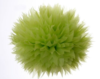 Groovy Green -1 Large Tissue Paper Pom Poms