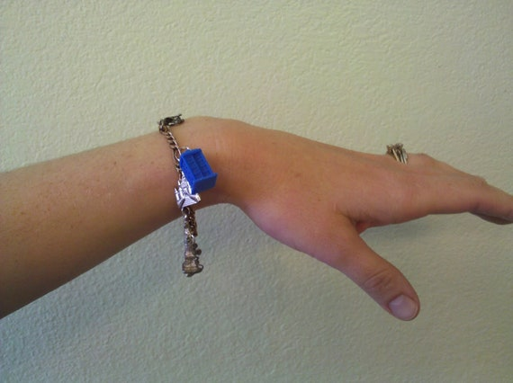 TARDIS Charm, Keychain or Pendant