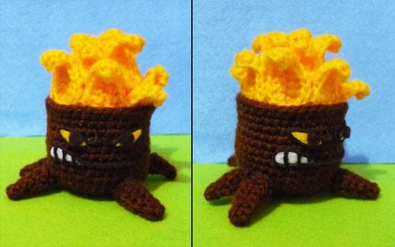 Amigurumi Plants Vs Zombies : Crochet Torchwood amigurumi Plants vs zombies by ...