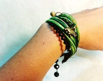 Bracelet I want you green green