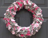 Door Decoration, Home Decor, Military Wreath, Patriotic Wreath
