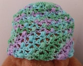 Lacey Hat Made With Recycled Yarn
