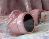 RESERVED - Aviator Goggles - Cotton Candy