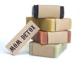 DETOX Soaps Set Gift for Her Christmas Gifts for Women Gift for Wife Gift for Mother Women Stocking Stuffer For Her