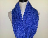 Royal Blue Cozy Cowl