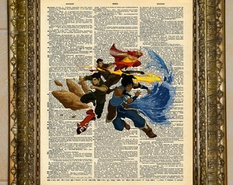 Avatar: The Legend of Korra Dictionary Art