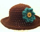 Baby Girl's Sun Hat