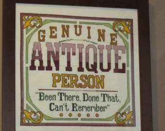 Genuine Antique Person