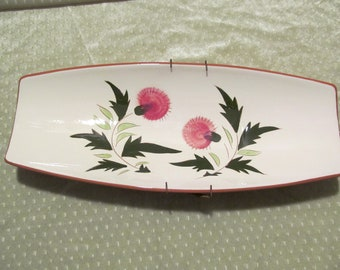Stangl Pottery Thistle Pattern Serving Dish