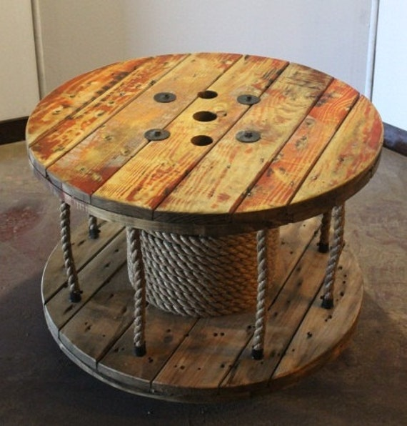 Large wooden spool craft ideas car interior design for Large wooden spools used for tables